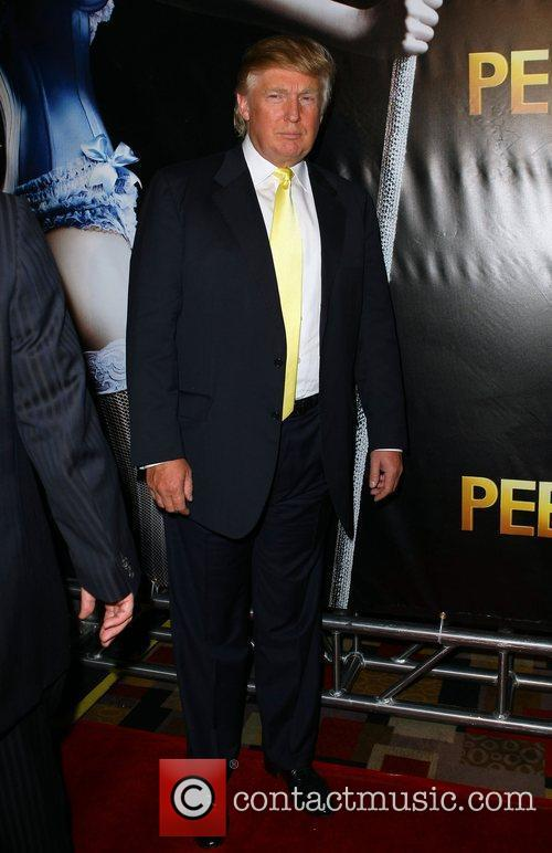 Donald Trump The world premiere of 'Peepshow' held...