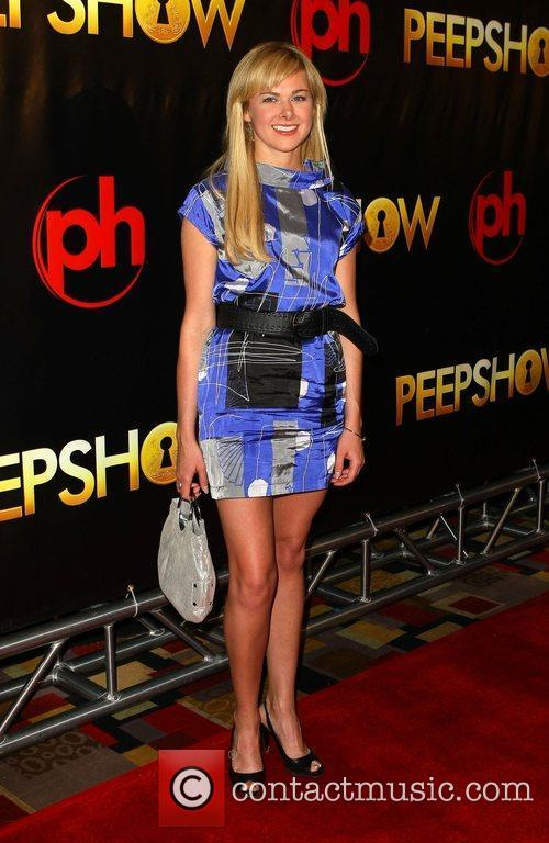 Laura Bell Bundy The world premiere of 'Peepshow'...