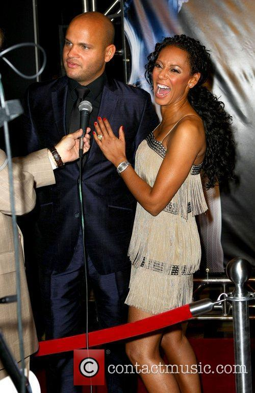 Mel B and Stephen Belafonte The world premiere...