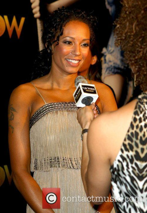 Mel B The world premiere of 'Peepshow' held...