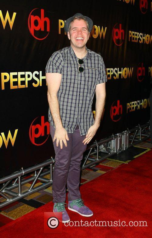 Perez Hilton The world premiere of 'Peepshow' held...