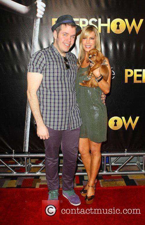 Perez Hilton and Alicia Jacobs The world premiere...
