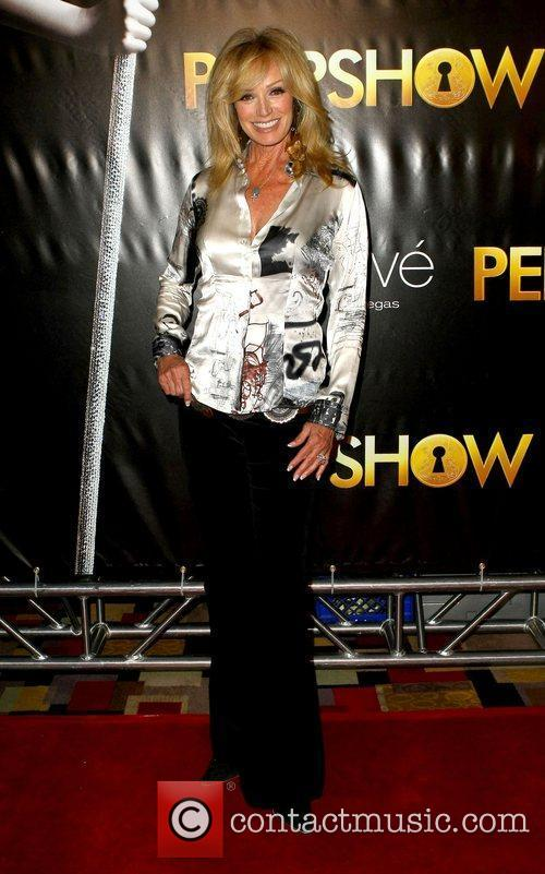 Susan Anton The world premiere of 'Peepshow' held...