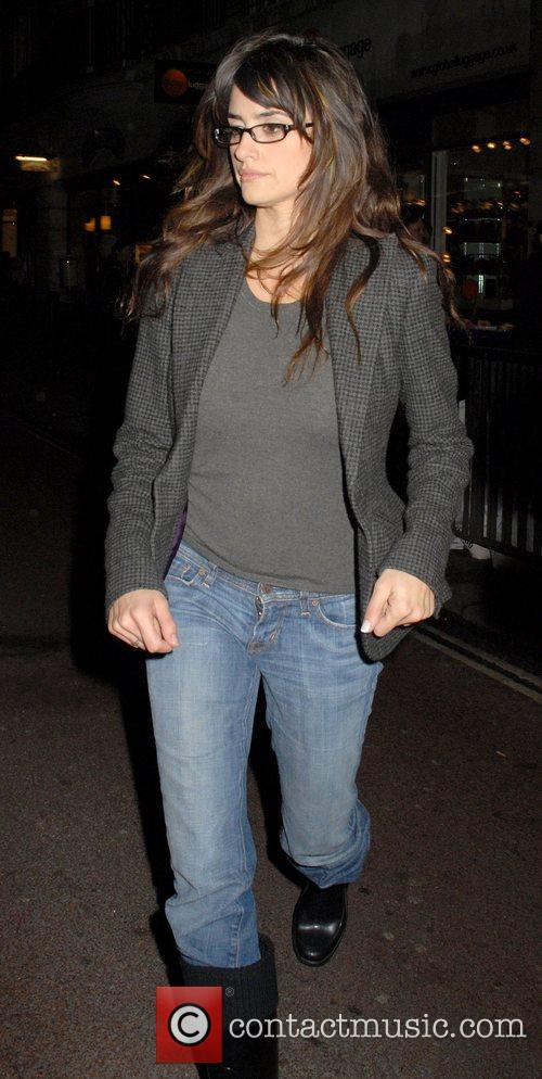 Penelope Cruz arrives at British Academy of Film...