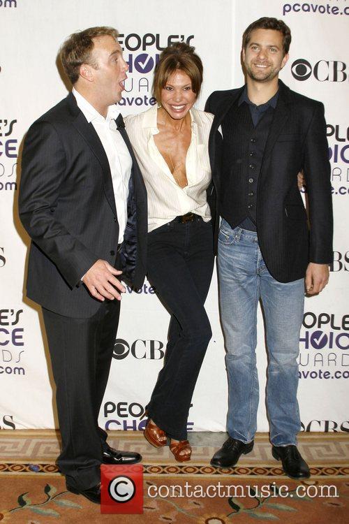 Jay Mohr, Nikki Cox and Joshua Jackson 35th...