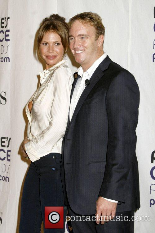 Nikki Cox and Jay Mohr 35th Annual People's...