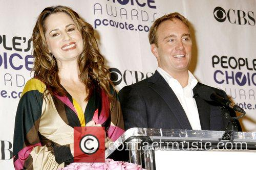 Paula Marshall and Jay Mohr 35th Annual People's...