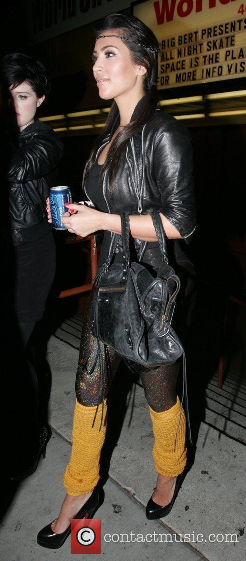 Kelly Osbourne and Kim Kardashian 2