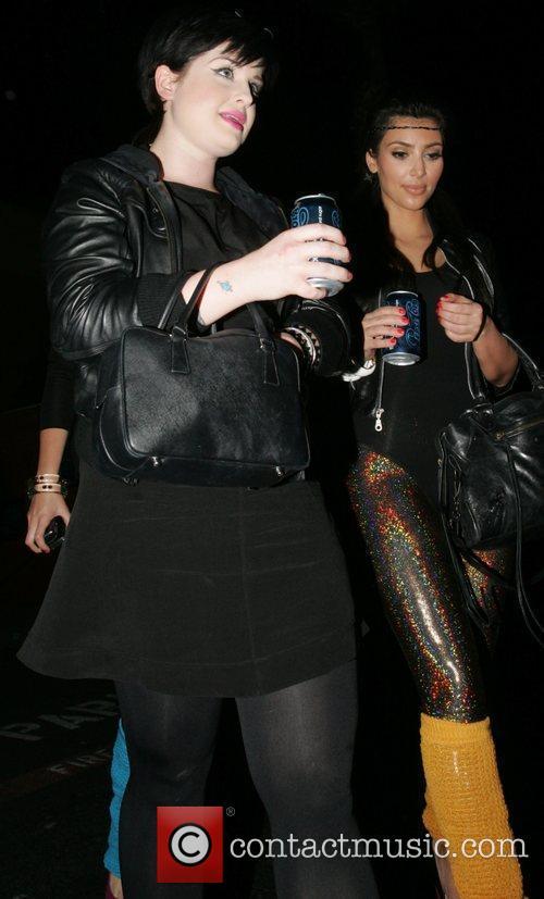Kelly Osbourne and Kim Kardashian 11