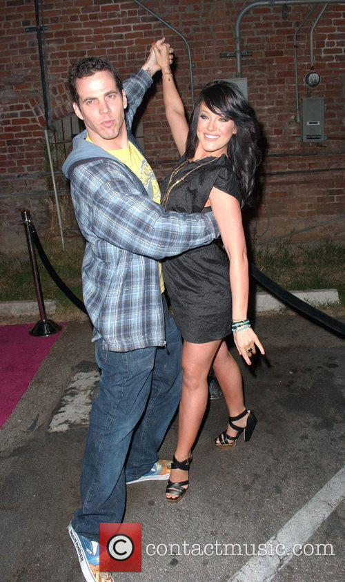 Steve-o and Lacey Schwimmer 1