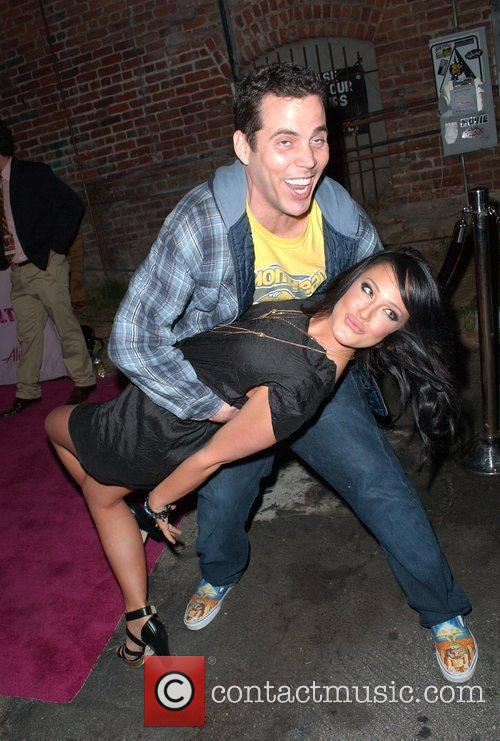 Steve-o and Lacey Schwimmer 2