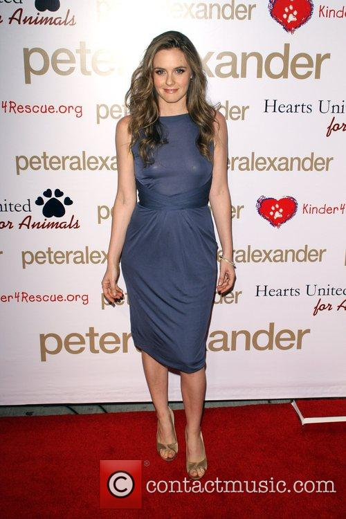 Alicia Silverstone Peter Alexander Flagship Boutique Grand Opening...