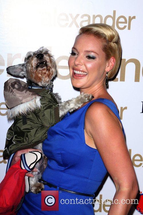 Katherine Heigl and Her Dog Romeo 6