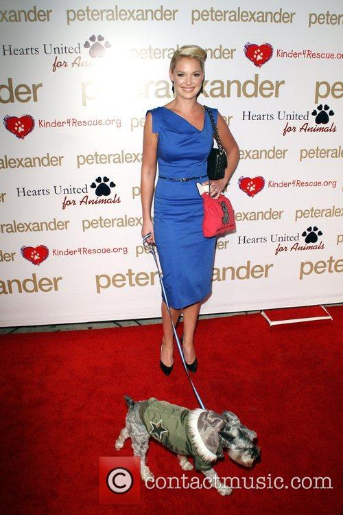 Katherine Heigl and Her Dog Romeo 4