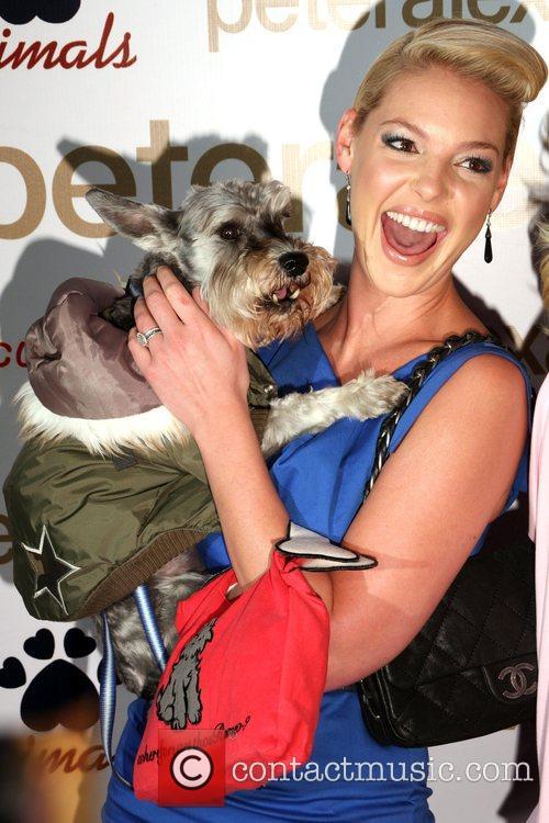Katherine Heigl and Her Dog Romeo 2