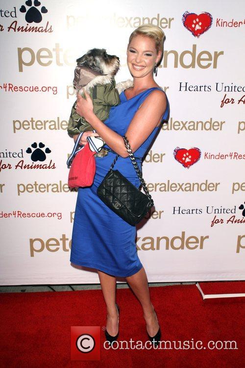 Katherine Heigl and Her Dog Romeo 5