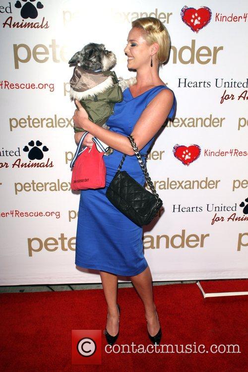 Katherine Heigl and Her Dog Romeo 3