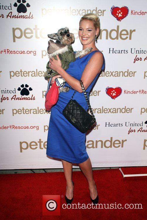 Katherine Heigl and Her Dog Romeo 7