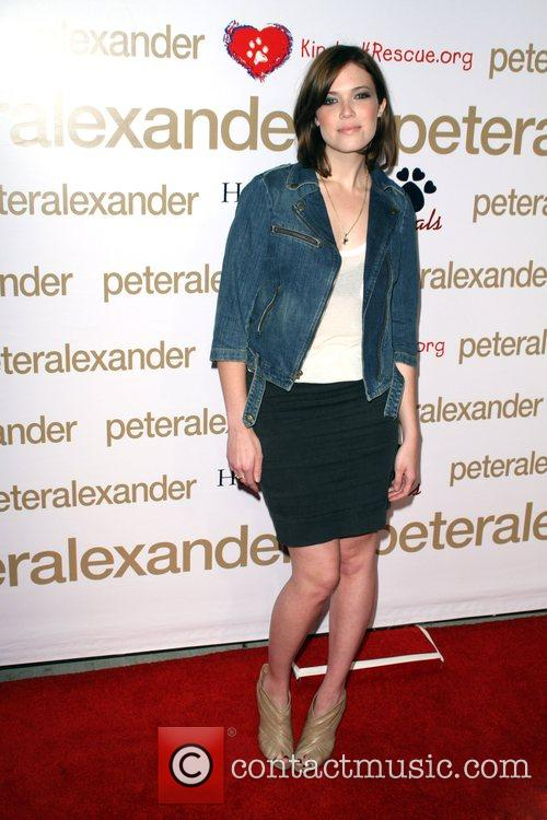 Mandy Moore Peter Alexander Flagship Boutique Grand Opening...