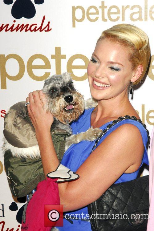 Katherine Heigl and Her Dog Romeo 11