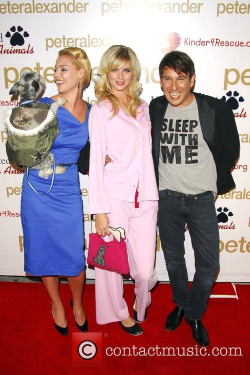 Katherine Heigl, Guest and Peter Alexander 9
