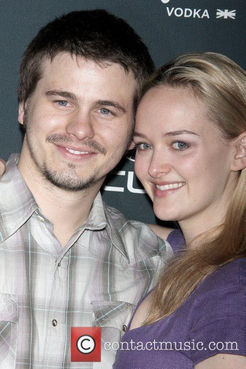 Jason Ritter and Jess Weixler Premiere of 'Peter...
