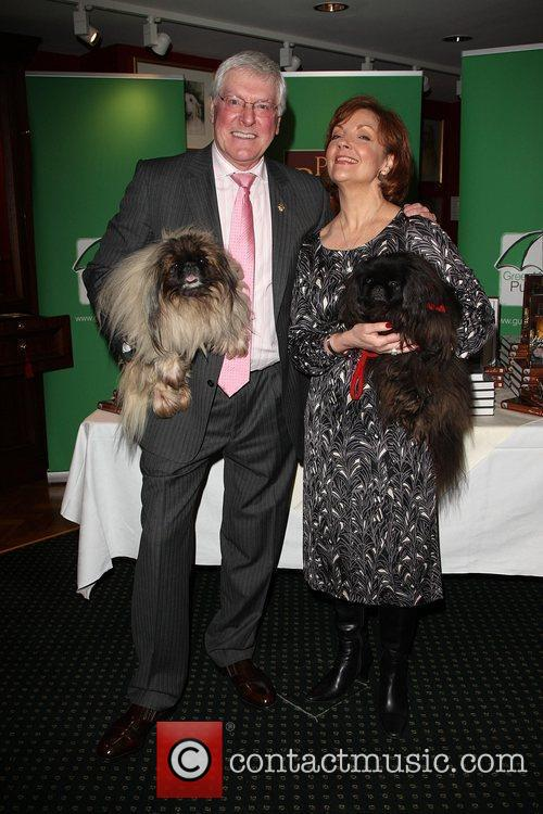 Peter Purves with his wife Gilly Fraser Peter...