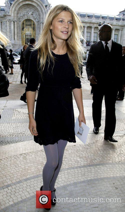 Clemence Poesy Paris Fashion Week - Spring/Summer 2009...