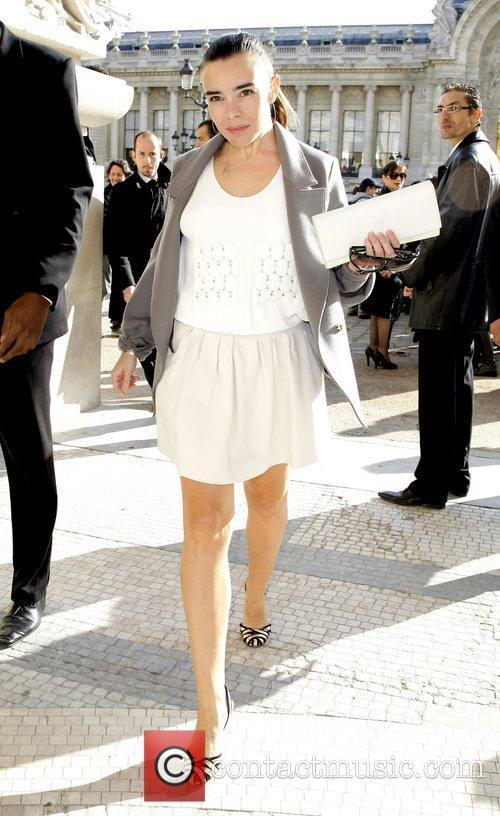 Elodie Bouchez Paris Fashion Week - Spring/Summer 2009...