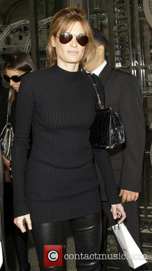Jemima Khan Paris Fashion Week - Spring/Summer 2009...