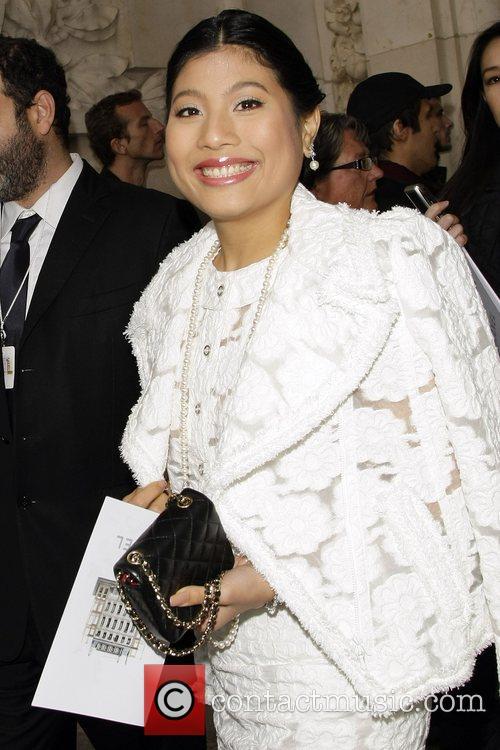 Princess Siriwanwaree Nareerat Of Thailand Paris Fashion Week...
