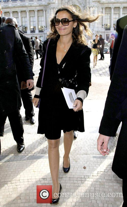 Virginie Ledoyen Paris Fashion Week - Spring/Summer 2009...