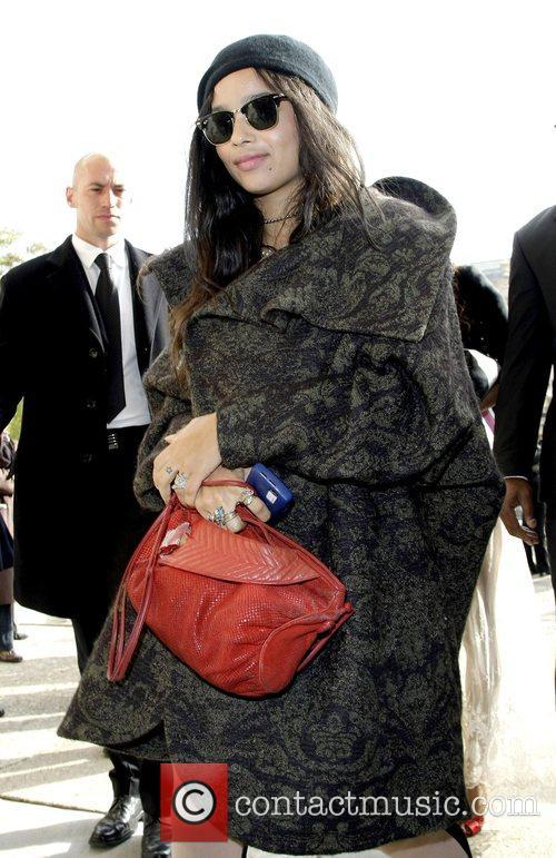 Zoe Kravitz Paris Fashion Week - Spring/Summer 2009...