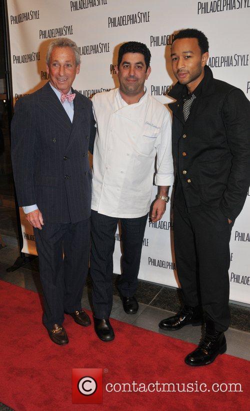 Joe Wolf, Chris Scarduzio and John Legend...