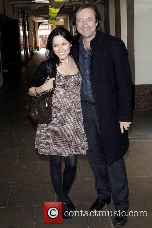 Andrea Corr and Neil Pearson