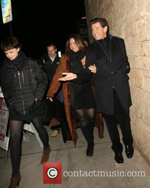 Pierce Brosnan, his wife Shaye Keely Bronson, Sundance Film Festival
