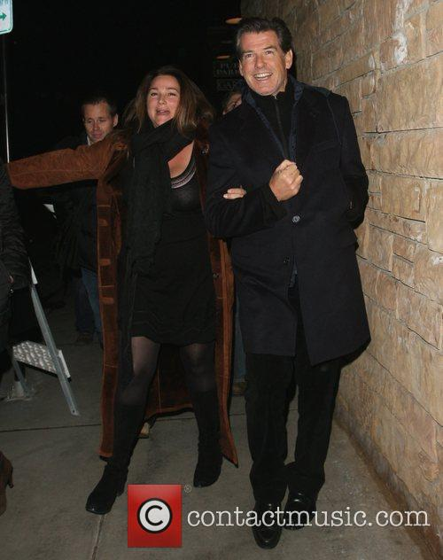 Pierce Brosnan and his wife Shaye Keely Bronson 11