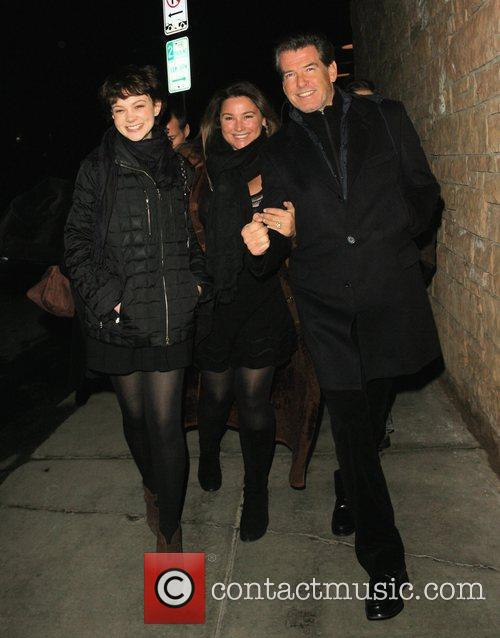 Pierce Brosnan and His Wife Shaye Keely Bronson 6