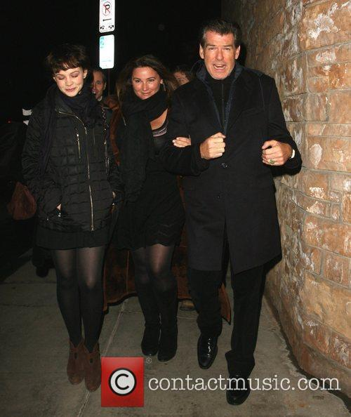 Pierce Brosnan and his wife Shaye Keely Bronson 13