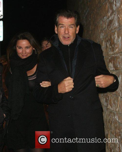 Pierce Brosnan and His Wife Shaye Keely Bronson 10