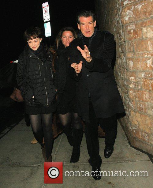 Pierce Brosnan and His Wife Shaye Keely Bronson 5