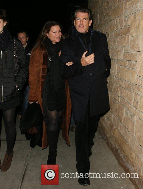Pierce Brosnan and his wife Shaye Keely Bronson 12