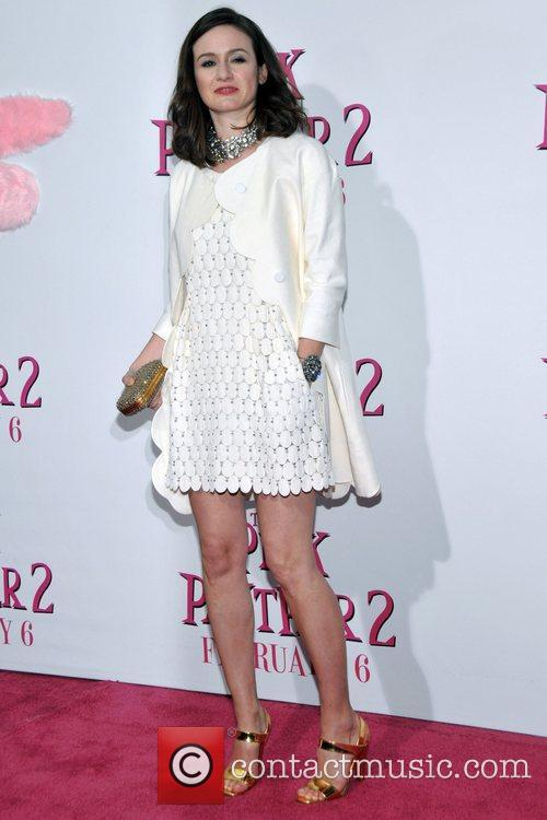 Emily Mortimer New York Premiere of 'The Pink...