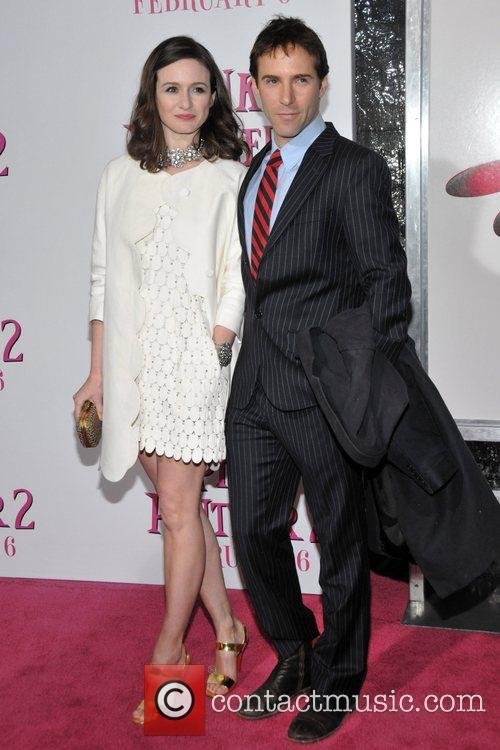 Emily Mortimer and Guest New York Premiere of...