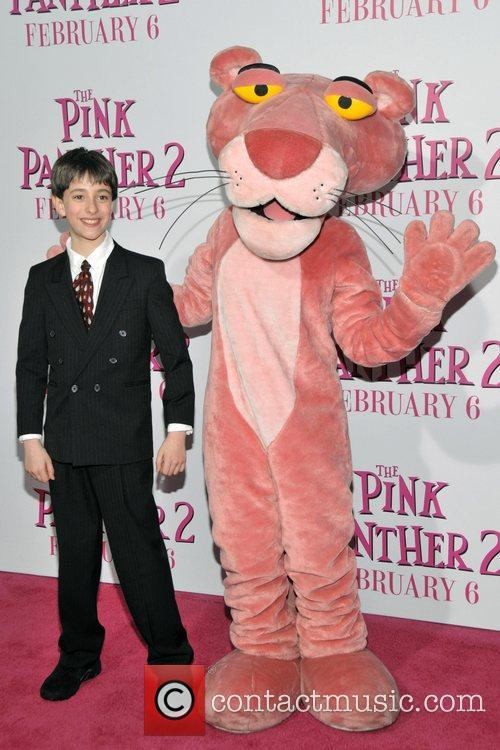 Jack Metzger and Pink Panther New York Premiere...