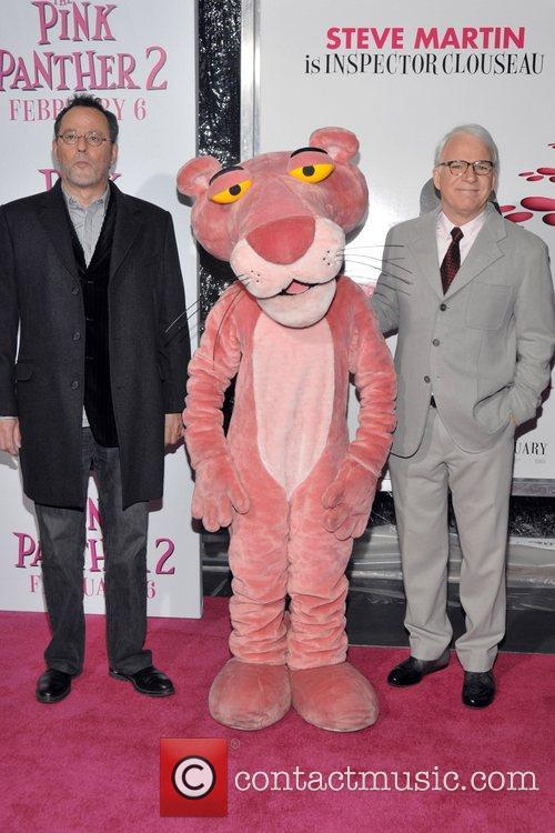 Jean Reno, Pink Panther and Steve Martin