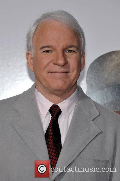 Steve Martin New York Premiere of 'The Pink...