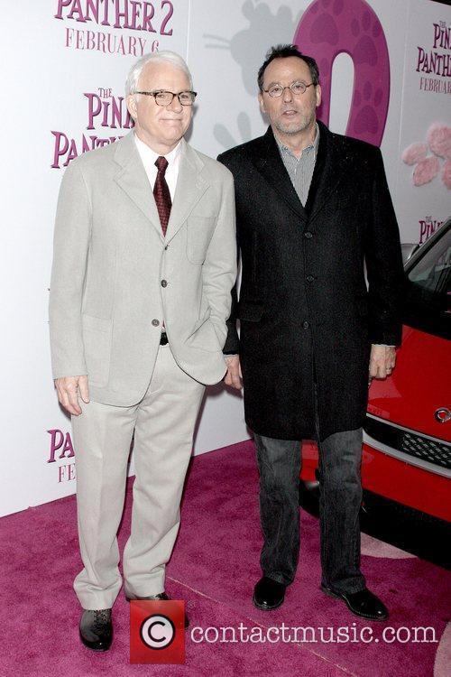 Steve Martin and Jean Reno New York Premiere...