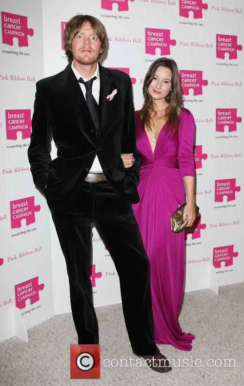 Kris Marshall with his girlfriend The Pink Ribbon...