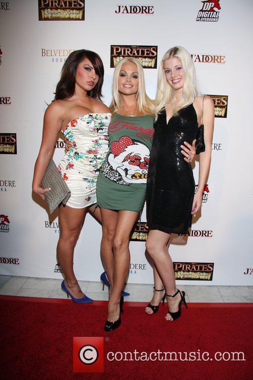 Ashley Weaver, Jesse Jane, Charlotte Stokely Digital Playground...
